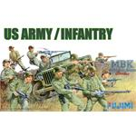 US Army Infantry Set WA27   1/76