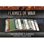 Flames Of War Rulebook: Mission Cards