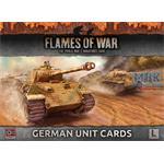 Flames Of War: Late War German Unit Cards