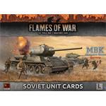 Flames Of War: Late War Soviet Unit Cards
