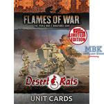 Flames Of War Desert Rats Unit Cards