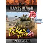 Flames Of War: Fighting First Unit Cards