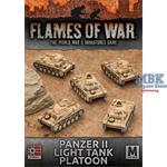 Flames Of War: Panzer II Tank Platoon