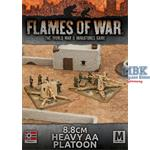 Flames Of War: Afrika Korps 8.8cm Heavy AA Platoon