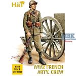 WWII French Artillery Crew (late Uniform)
