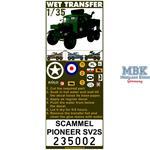 Scammel Pioneer SV2S Stencils
