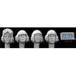 4 Heads US Tank Crew 1980 - today