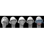 5 Heads Dutch/Romanian Steel Helmet WWII
