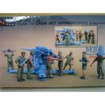 Flak 18 Afrika Crew - 8 Figuren