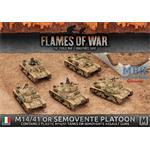Flames Of War: M14/41 or Semovente Platoon