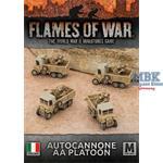 Flames Of War: Autocannone AA Platoon