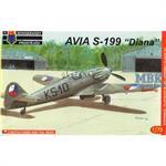 Avia S-199 'Diana' Early CzAF