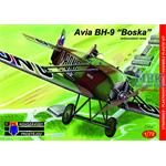 Avia BH-9 L-BONF pilot Dr Lhota