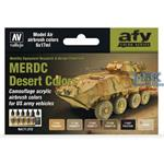Model Air Set MERDC Desert Colors