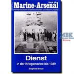 Dienst in der Kriegsmarine bis 1939