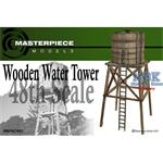 Wooden Water Tower 1:48