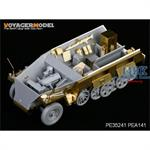 German Sd.Kfz.250 neu Stowage Bins & Fenders
