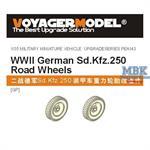 Sd.Kfz.250 Road Wheels Pattern 1