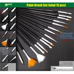 Paint Brush Set / Pinselset   15 x