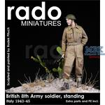 British 8th Army Italy 43-45  standing Soldier
