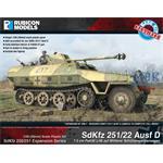 SdKfz 250/251 Expansion Set - SdKfz 251/22 Ausf D