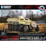 SdKfz 250/251 Expansion Set - SdKfz 250/7 & 251/2