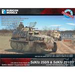 SdKfz 250/251 Expansion Set - SdKfz 250/9 & 251/23