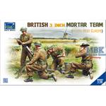 British 3 inch Mortar Team set (North West Europe)