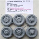 Mercedes L4500 Reifen Set