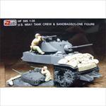US M5A1 Tank Crew & Sandbags