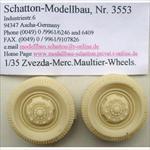 Mercedes L4500 Maultier Reifen Set