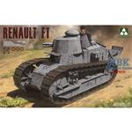French Light Tank Renault FT-17 3 in 1  1:16