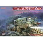 Russian MAZ-7911 heavy truck