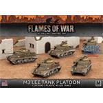 Flames Of War: M3 Lee Tank Platoon