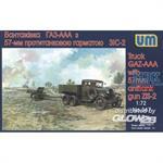 Truck GAZ-AAA & 57mm AT Gun ZiS-2