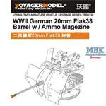 2cm Flak38 Barrel