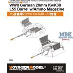 2cm KwK38 Barrel