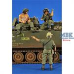 US Tankers & Grunt Vietnam (3 Figures)