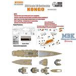 WWII IJN Battleship Kongo (For Aoshima)