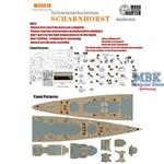 WWII German Battlecruiser Scharnhorst