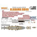 WWII Battelship USS Alabama BB60