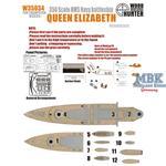 WWII  Battleship HMS Queen Elizabeth