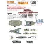WWII IJN Battleship MIKASA