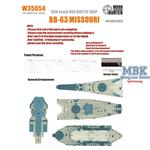 WWII Missouri Battleship(for Trumpeter 80604)
