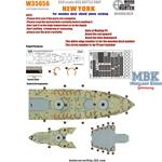 USS BATTLESHIP NEW YORK (FOR TRUMPETER 05339)w/PE