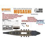 WWII IJN Battleship Musashi
