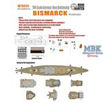 WWII German Battleship Bismarck