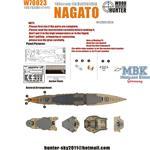 WWII IJN Nagato Battleship