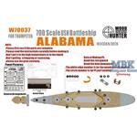 WWII USS Alabama(for Trumpeter 05762)