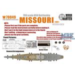 WWII USS Missouri(for Trumpeter 05705)